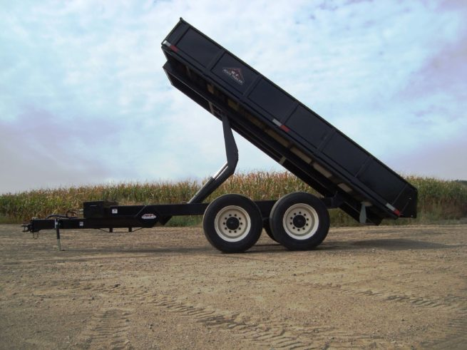 8X16 Premium Off-Road Dump Trailer