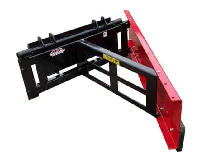 single blade feed pusher rubber