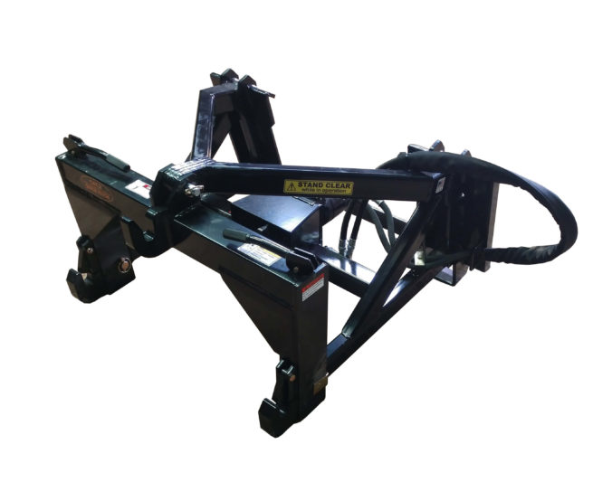 3 Point Quick Hitch to Female Quick Attach Adapter with Hydraulic Drive 540PTO