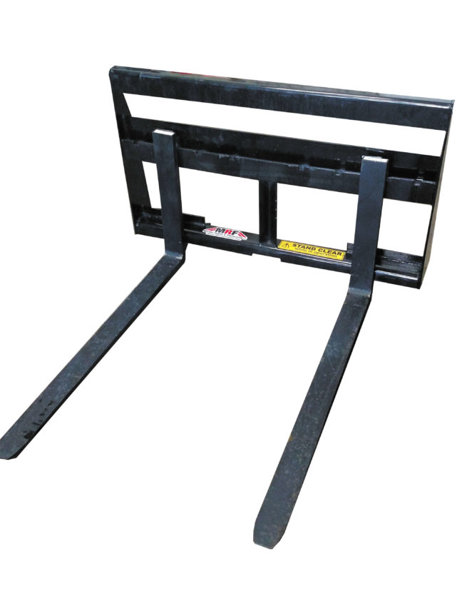 pallet fork 45 wide with tines