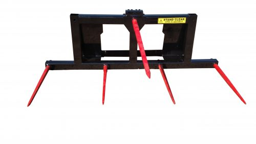 5 1/2' wide 5-Tine Combo Bale Fork
