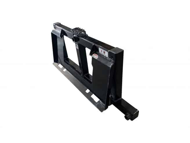 4 tine combo bale fork frame only right back